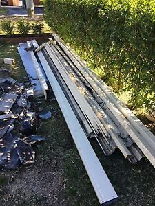 Steel pergola roof Berowra Heights Hornsby Area Preview
