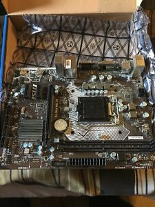 MSI H110M PRO-VD MOTHERBOARD $100