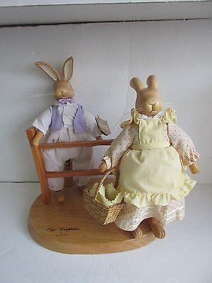 Robert Raikes Originals 1991 The Hopkins EASTER BUNNIES