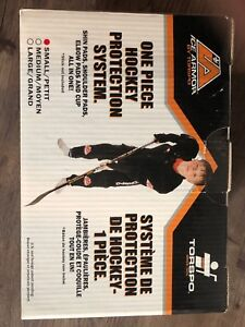 One piece hockey protection system new
