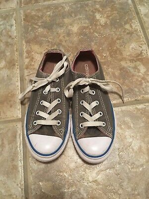 Gils Converse Shoes Size 1 Gray - Gils Shoes