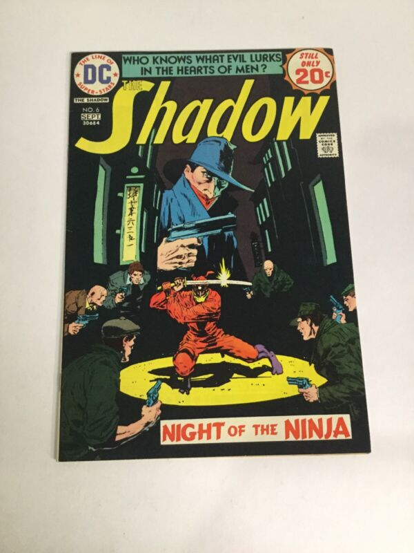 The Shadow 6 Vf Very Fine 8.0 DC Comics Bronze Age