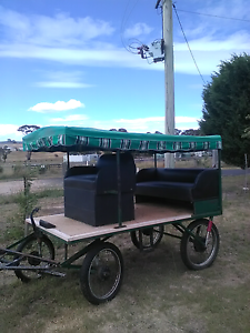 Horsedrawn wagon for 2 ponies. Portland Lithgow Area Preview