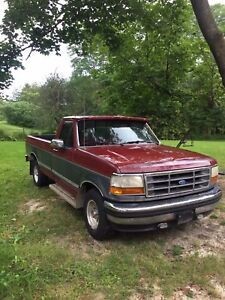 1993 Ford F-150 $1200 cash or guitar trade