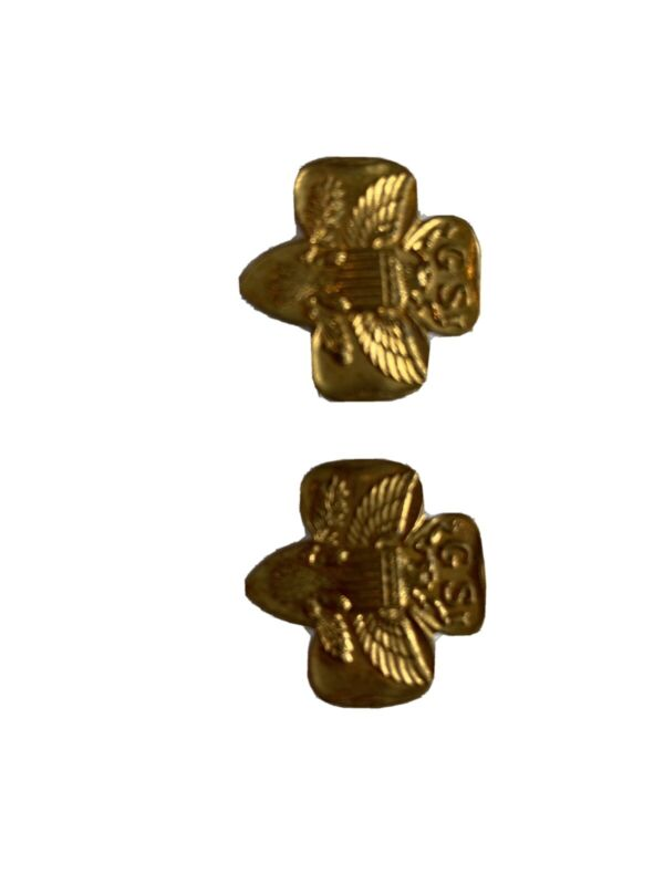 Vintage GS Girl Scout Eagle Pins