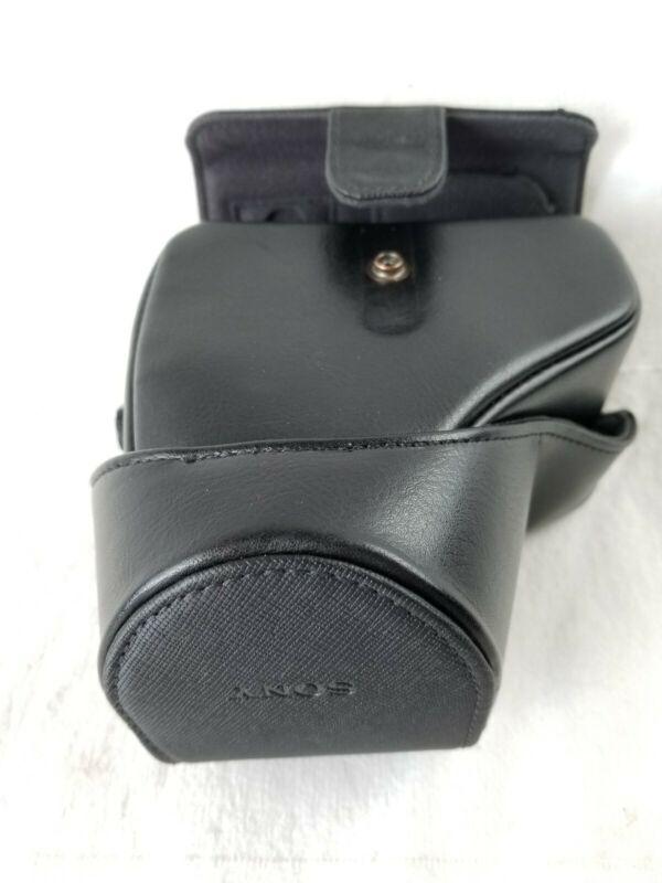 Original Sony LCS-EJC3 for Alpha a6000 a6300 a6500 NEX Camera Lens Bag Cover