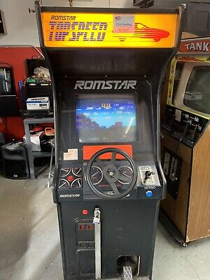 Top Speed Upright Driving Video Arcade Machine Super Deal!
