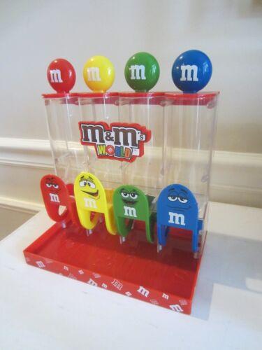 M & M CANDY DISPENSER M&M