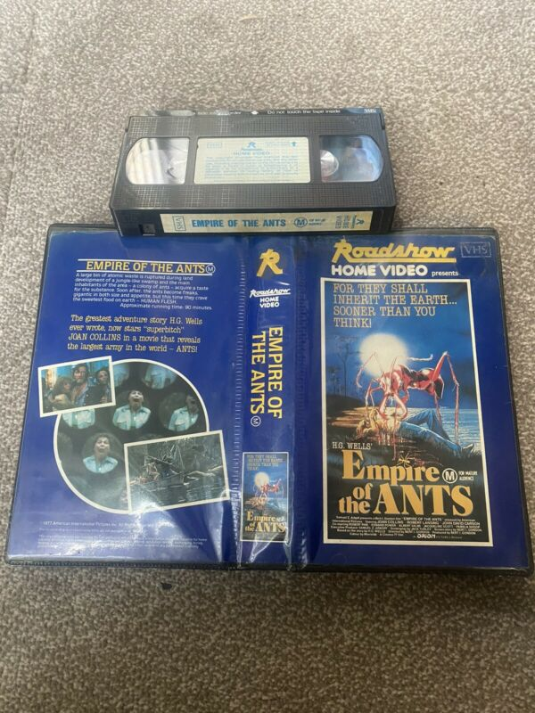 Empire of the ants Vhs/ Rare & original Roadshow 'Horror' Video