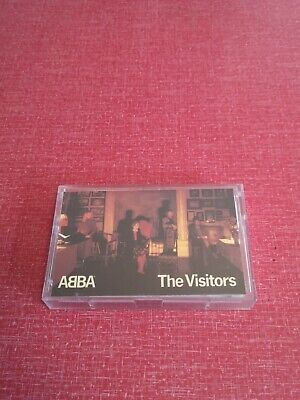ABBA - UK CASSETTE TAPE - THE VISITORS