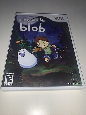 David Crane's: A Boy and His Blob (Nintendo Wii) Complete VGC Nice Clean + Free