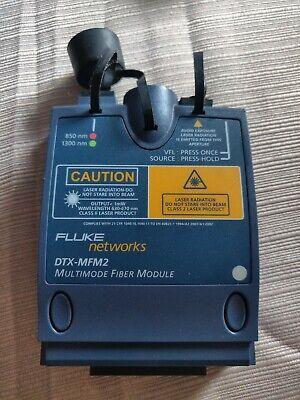 Fluke Dtx-mfm2 Mm Fiber Module For Dtx-1800 Dtx-1200 Dtx Mfm2