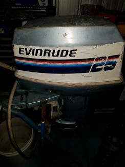 25 hp Evinrude
