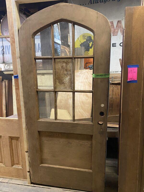 """Vintage Arched Door Antique Arched Door Pantry Door 37.5"""" X 85"""" X 1.75"""""""