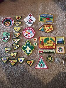 Boy Scouts and Wolf Cub badges