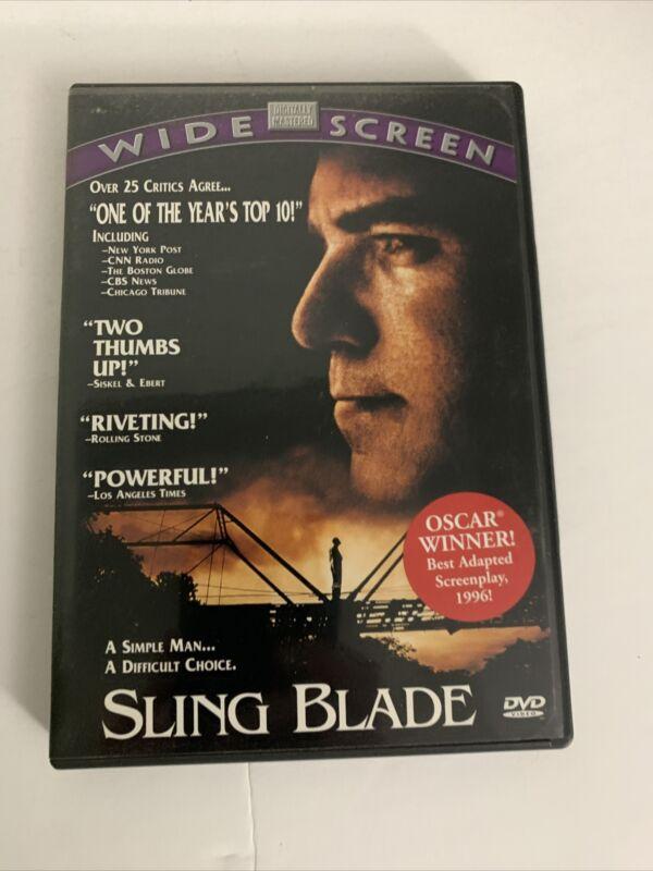 SLINGBLADE Billy Bob Thornton DVD