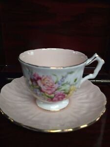 Vintage Aynsley  Bone China Tea Cup and Saucer