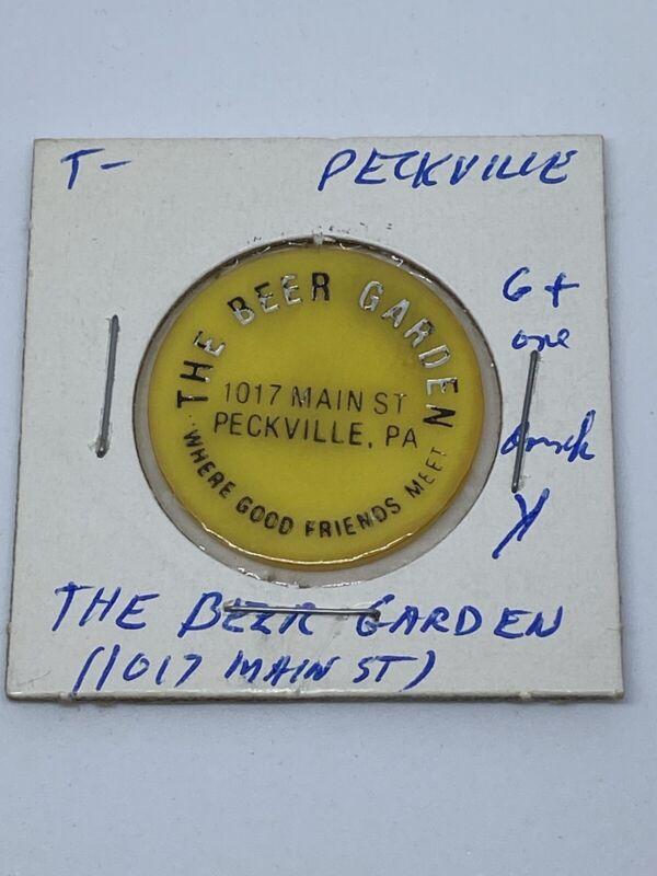 The Beer Garden Peckville PA good for One Drink In trade token. C309