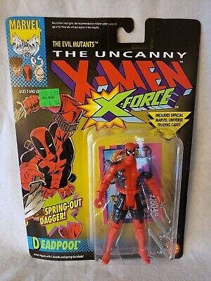 """TOYBIZ Marvel Super Heroes """"DEADPOOL""""  (NIP) Uncanny X-Men X-Force"""