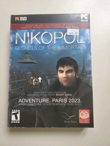 NIKOPOL SECRETS OF THE IMMORTALS PC Game CD-ROM Adventure NEW in BOX