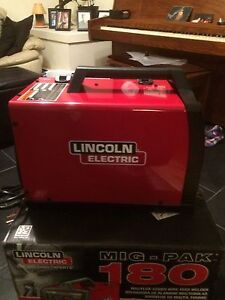 Lincoln electric mig 180