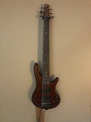 ibanez 6 string bass guitar