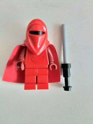 Lego Royal Guard 7264 7166 6211 Red Hands Star Wars Minifigure Lot of 4