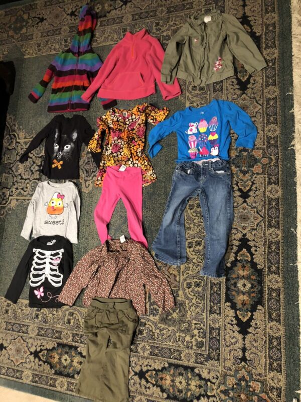 Toddler Girls Size 4 And 4t Fall Halloween Levis Carters Gap Clothing Lot