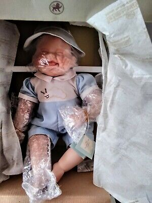 Vintage 90s Ashton Drake porcelain doll Tickles Joy of Summer boxed handcrafted