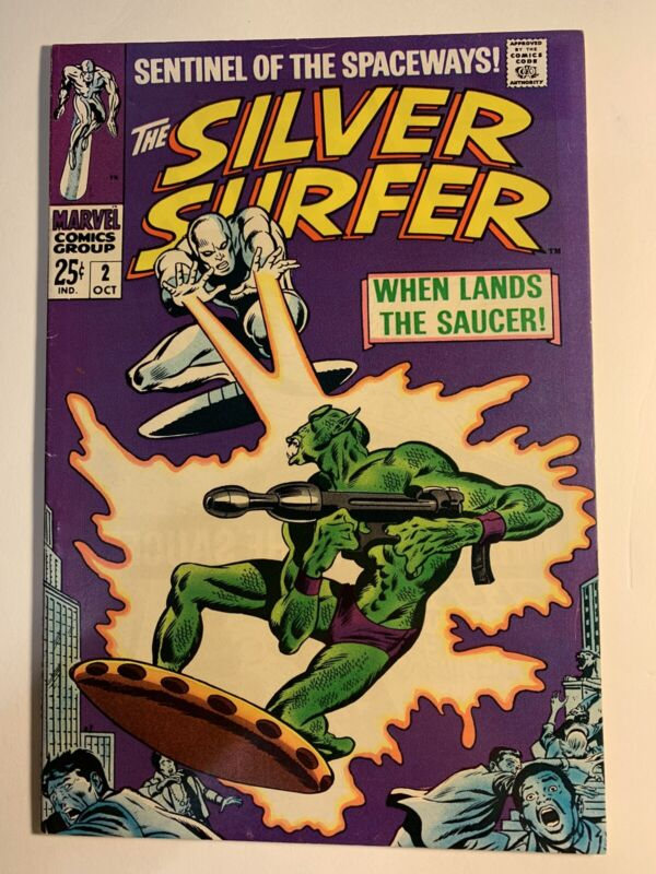 Silver Surfer #2 (1968, Marvel) 1st Appearance of the Badoon