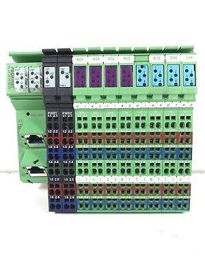 PHOENIX CONTACT Inline  Block IO ilb PN 24 DI16 DIO16-2TX------973