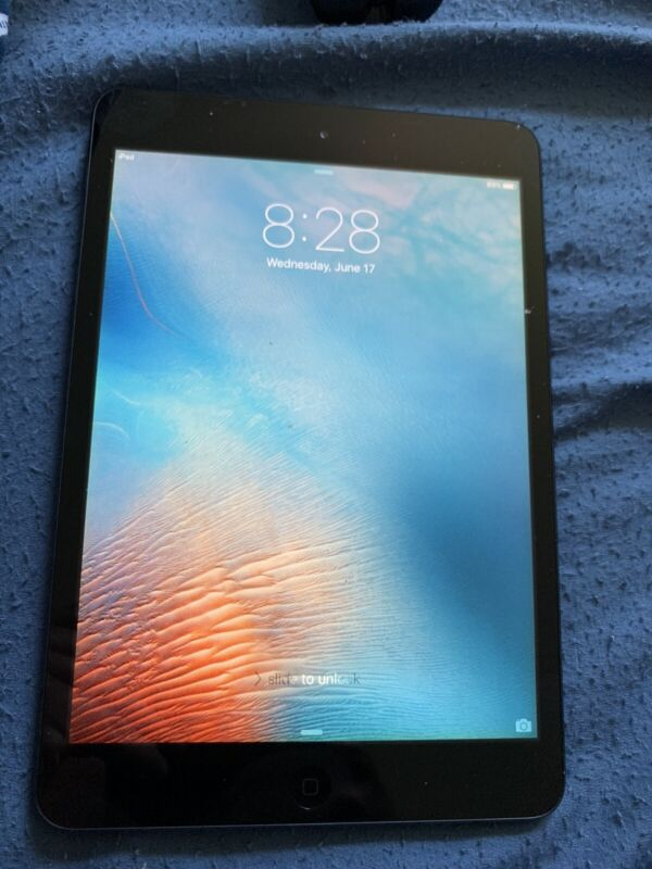 "Apple iPad mini 1st Generation 7.9"" 16GB, Wi-Fi Black"