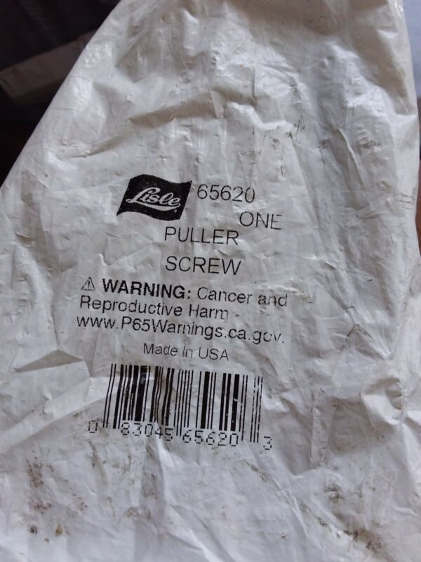 Lisle 65620 Puller Screw (NS13)