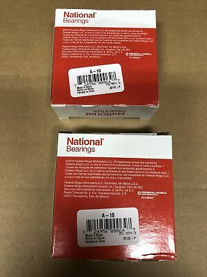 Lot Of 2 National A-10 Wheel Roller Bearings Brand New