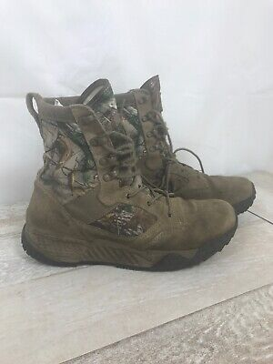 Under Armour Multi-Camo Tactical Boot Men's Size 8.5 1236876-220 Woodland
