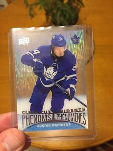 Tim Hortons Auston Matthews Clear Cut Phenom
