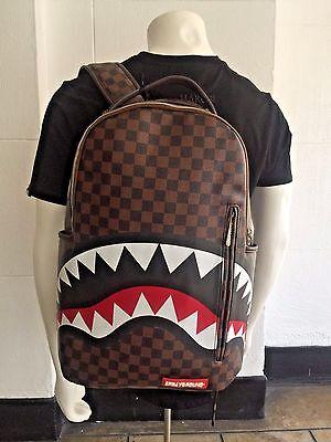 Unisex Sprayground Sharks in Paris Fashion Backpack