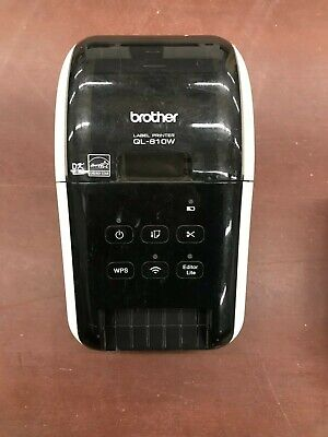 Brother Ql-810w Ultra-fast Professional Label Printer With Wireless Networking