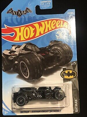 HOT WHEELS '17 BATMAN ARKHAM KNIGHT BATMOBILE WITH RED PIN STRIPES