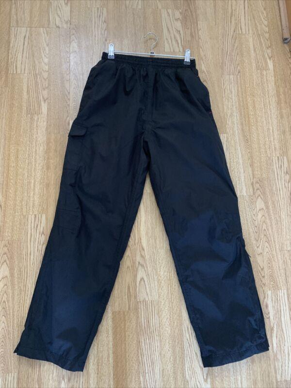 Peter Storm Black Outdoor Walking Hiking Waterproof Trousers Age 11/12