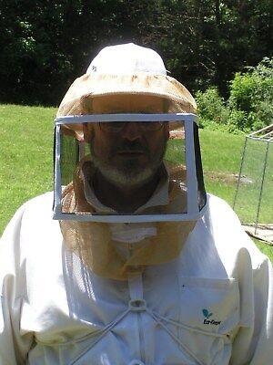 Beekeeping Helmet With Square Veil