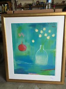 Glass framed painting Cottesloe Cottesloe Area Preview