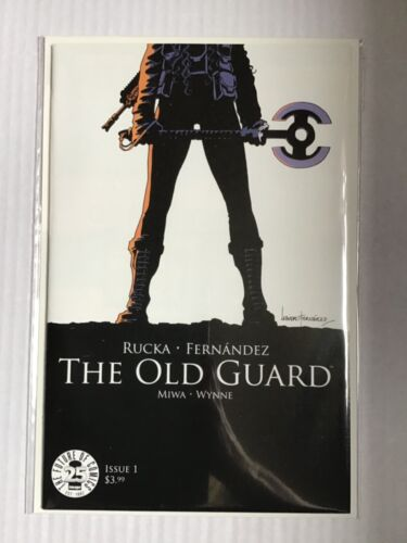 THE OLD GUARD # 1 FIRST PRINT IMAGE COMICS