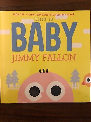 This Is Baby by Jimmy Fallon New! Hardcover