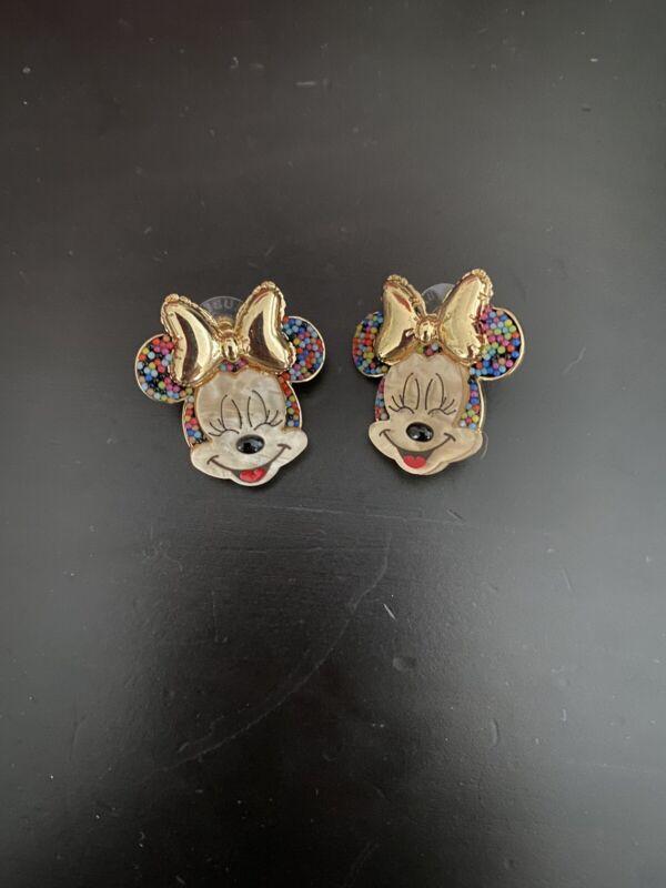 Baublebar Disney Minnie Mouse Birthday Rainbow Earrings