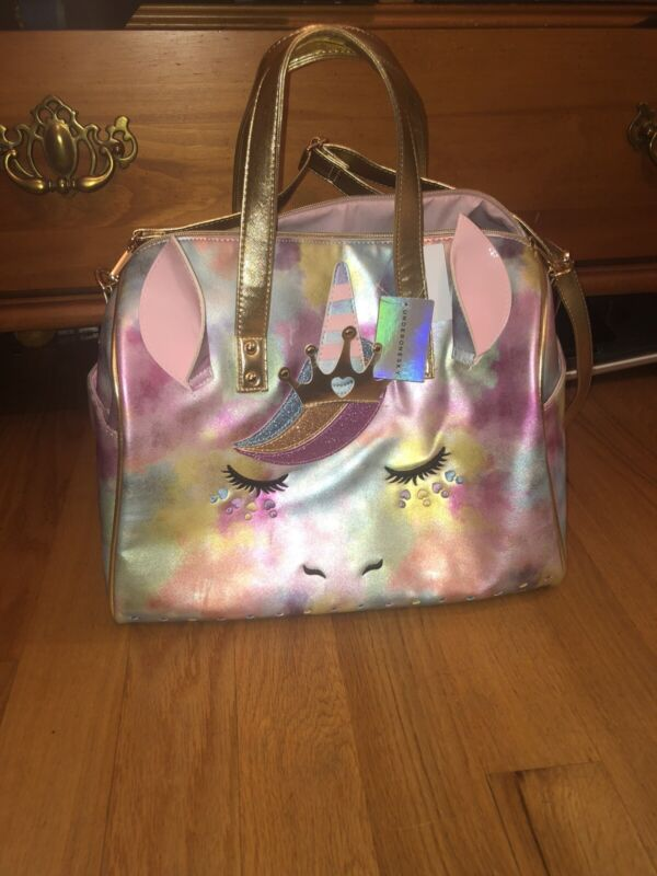 New With Tags Underonesky Unicorn Duffle Bag!!