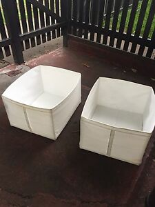 Ikea Scuff Storage boxes x 4 Enmore Marrickville Area Preview