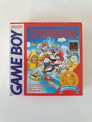 NEW SUPER MARIO LAND Nintendo Gameboy Game boy Boxed boite OVP DMG-ML-FAH-9