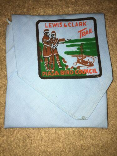 Boy Scout Jefferson Lewis Clark Piasa Bird Council Illinois Trail Neckerchief