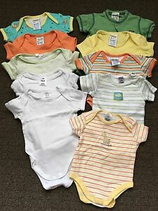 10 boy onesies newborn Largs Bay Port Adelaide Area Preview